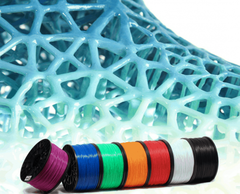 3d printing filament multi colour materials at local makers in amsterdam, netherlands - 3d printen ontwerp service professional pro printers desktop