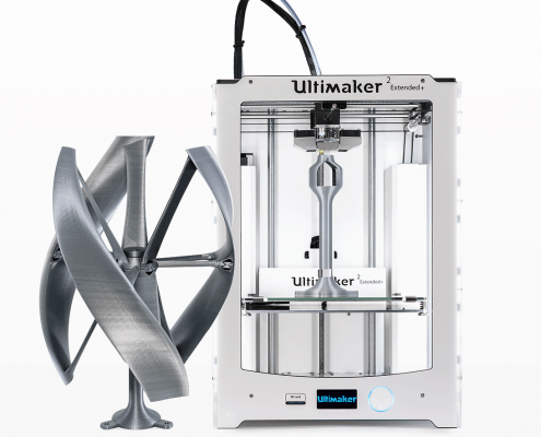 3d printer ultimaker 2 + extended to go available at local makers in amsterdam, netherlands - 3d printen ontwerp service professional pro printers desktop