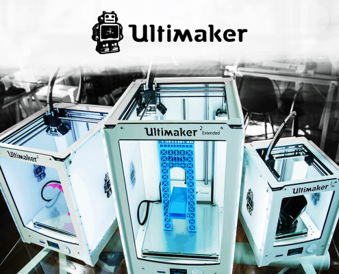 ultimaker 2 + extended to go 3d printer at local makers in amsterdam, netherlands - 3d printen ontwerp service professional pro printers desktop