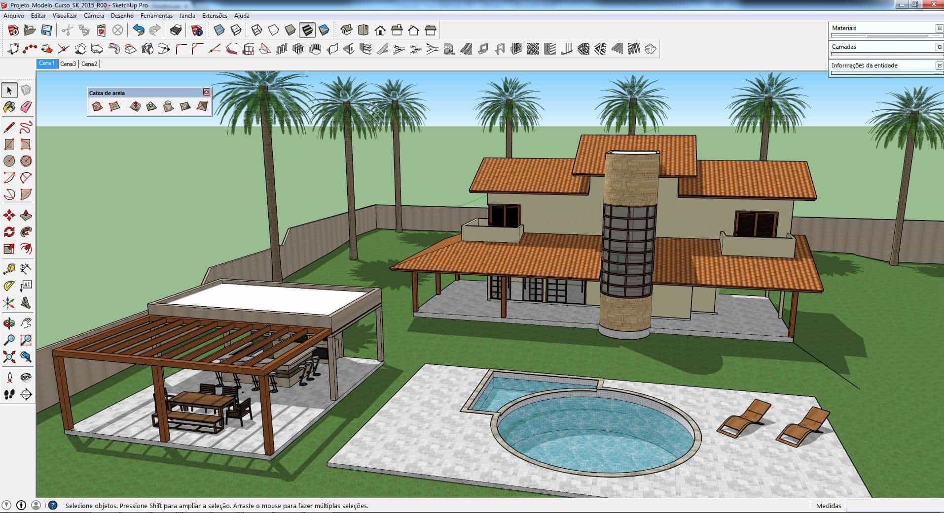 Sketchup software for 3d drawing online no download