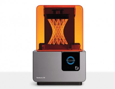 Formlabs form 2 3D printer printplate Rapid prototyping Sdcard