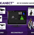 3d scanning software skanect high quality texture scan scanner