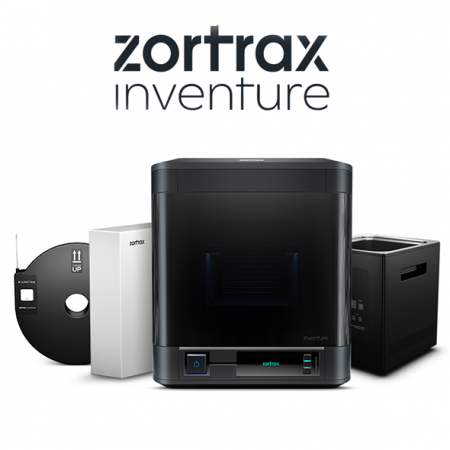 zortrax inventure 3d printer strong details resistant materials