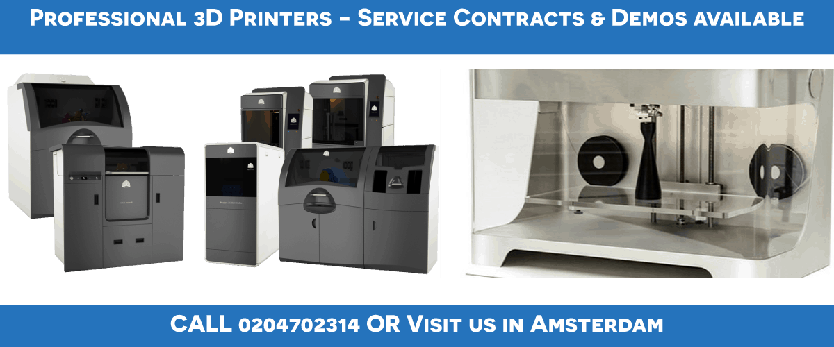 Local Makers Amsterdam professional 3D printers