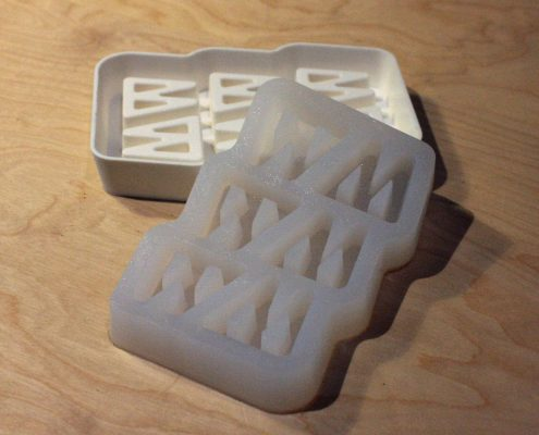 ice cube mold by Local Makers in Amsterdam