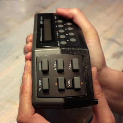 3D printed radio controller by Local Makers in Amsterdam