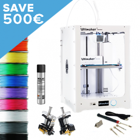 Ultimaker 3 Extended now available at local makers