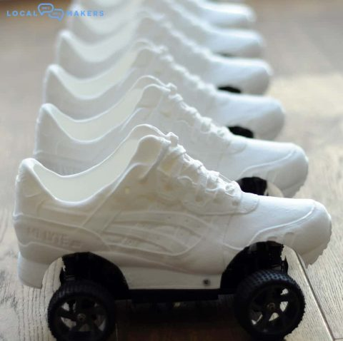 3D printed shoes by Local Makers in Amsterdam