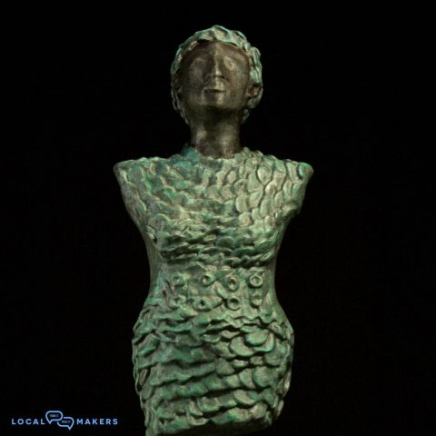 3D printed sculpture made in Amsterdam