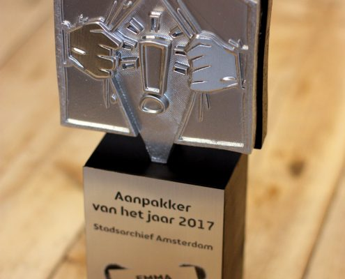 trophy design in Amsterdam