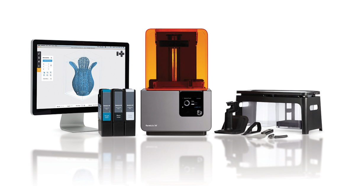 koop Formlabs 3D printer in Amsterdam