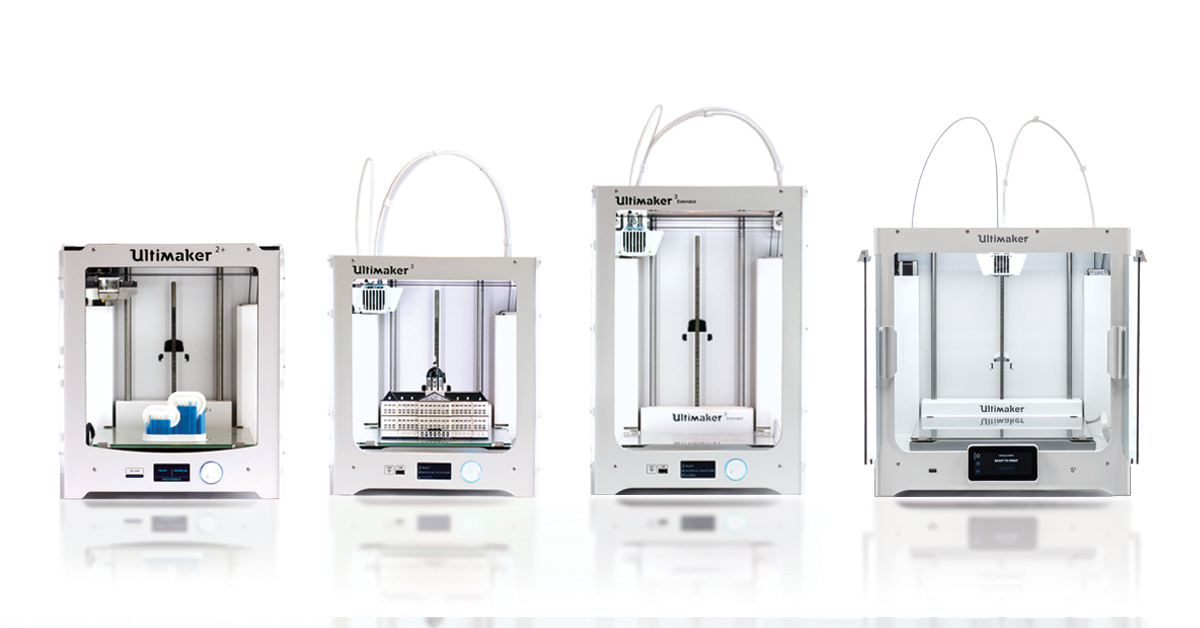 Ultimaker 3D printer in Amsterdam