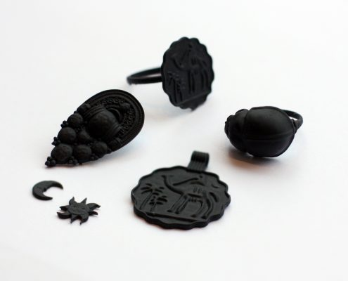 3D printed jewelry with Formlabs by Local Makers