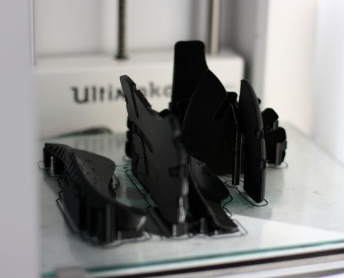 black filament in Amsterdam at Local Makers