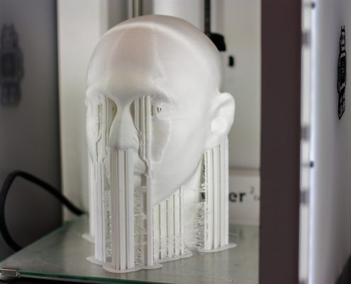 Ultimaker 3D printing at Local Makers in Amsterdam