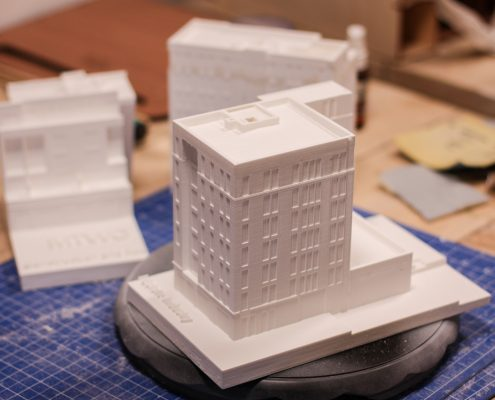 architecture model 3D printing in Amsterdam